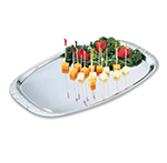 "Vollrath 47251 Rectangular Cater Tray - 19x12-3/8"" Stainless"