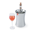 Vollrath 47616 Insulated Wine Cooler - Hourglass Shape, Mirror-Finish Stainless