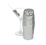 Vollrath 47622 22-oz Cocktail Shaker - 3-Piece, Contemporary Style, Mirror-Finish Stainless