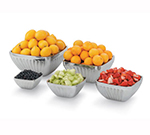 Vollrath 47682 3.2-qt Square Plain Insulated Bowl - Satin-Finish Stainless