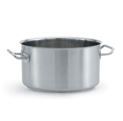 Vollrath 47735 33-qt Sauce Pot - Induction Compatible, 18/8 Stainless
