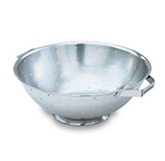 Vollrath 47969 8-qt Colander with Handles - Footed Base, Stainless