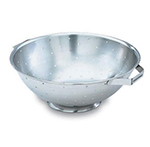 Vollrath 47965 5-qt Colander with Handles - Footed Base, Stainless