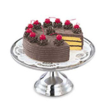 """Vollrath 48023 13"""" Cake Stand - 7-3/8"""" H, Stainless"""