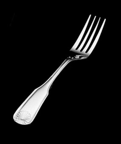 Vollrath 48201 Mariner 4-Tine Dinner Fork - Stainless