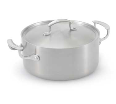 Vollrath 49411 5-qt Casserole with Low Dome Cover - Aluminum Bottom, 18-ga  Stainless