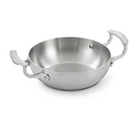 "Vollrath 49417 8"" French Omelet Pan - Aluminum Bottom, 18-ga Stainless"