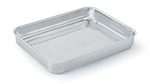 Vollrath 49432 4.6-qt Large Food Pan - Aluminum Bottom, 18-ga Stainless