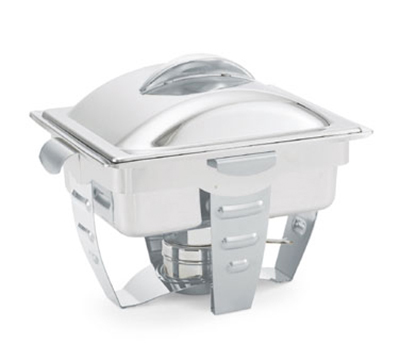 Vollrath 49529 4.1-qt Half-Size Chafer - Mirror-Finish Stainless