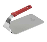 Vollrath 50661 1.6-lb Steak Weight - Red Silicone Handle, Stainless