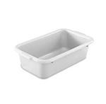 "Vollrath 52629 Undercounter Bus Box - 20x12x6"" Gray"