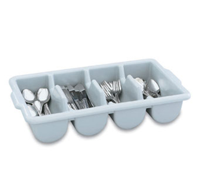 Vollrath 52651 Cutlery Dispenser - 4-Compartment, Gray