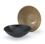 Vollrath 52867 14-oz Salad Bowl - Laminated Plastic, Black