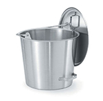 Vollrath 58030 Hook-On Cover for Tapered Pails - Stainless