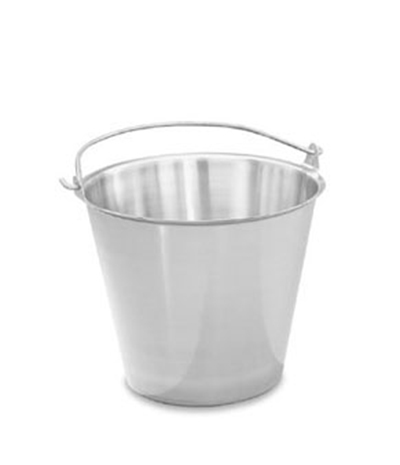 Vollrath 58130 12-1/2-qt Tapered Pail - Stainless