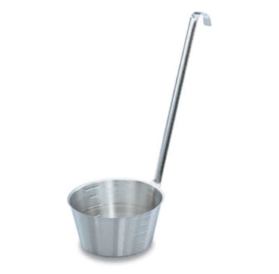 "Vollrath 58700 1-qt Dipper - 12"" Hooked Handle, Stainless"