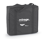 Vollrath 59145 6-Pack Induction Range Storage Bags - Padded Nylon, Black