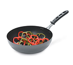 "Vollrath 59950 11"" Induction Wok - Insulated Handle, Non-Stick Carbon Steel"