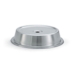 "Vollrath 62321 Plate Cover for 11-7/16""- 11-1/2"" Satin-Finish Stainless"