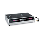 Vollrath 69523 Countertop Commercial Induction Cooktop w/ (2) Burners, 208-240v/1ph