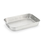 "Vollrath 68358 23-1/2-qt Baking/Roasting Pan - 25-3/5x17-3/4x3-9/16"" Aluminum"