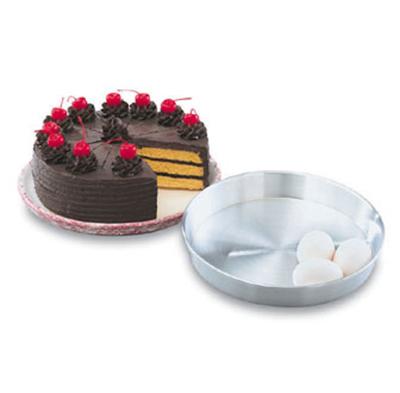"""Vollrath 68099 9-5/8"""" Round Cake Pan - Aluminum"""