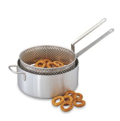 Vollrath 68228 12-qt Fry Pot w/ Basket - Aluminum