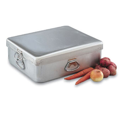 "Vollrath 68390 42-qt Roasting Pan with Cover - Heavy-Duty, 20-7/8x17-3/8x9-3/8"" Aluminum"