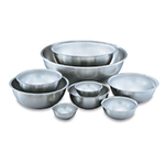 Vollrath 69040 4-qt Mixing Bowl - 18-ga Stainless