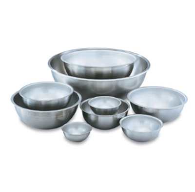 Vollrath 69080 8-qt Mixing Bowl - 18-ga Stainless