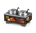 Vollrath 720202002 Full-Size  Soup Merchandiser Base - Tuscan, 7-qt Accessories 120v