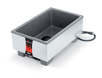 Vollrath 72020 Full-Size Countertop Merchandiser - Thermostat 120v 1000W