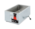 "Vollrath 72090 Countertop Power Cooker - Full-Size, Thermostat, 22x14x9-1/2"" Stainless 120v"