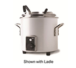 Vollrath 7217750 7-1/4-qt Kettle Rethermalizer - Thermostat, Pearl White 120v