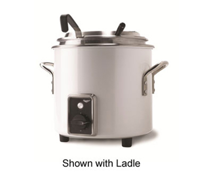 Vollrath 7217250 11-qt Kettle Rethermalizer - Thermostat, Pearl White 120v