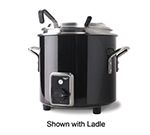 Vollrath 7217760 7-1/4-qt Kettle Rethermalizer - Thermostat, Black Black 120v