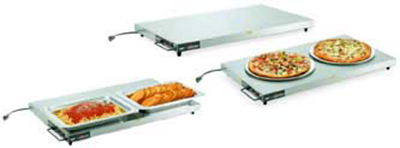 "Vollrath 7277136 36"" Cayenne Heated Shelf - Right-Aligned, Thermostat, Stainless/Aluminum 120v"