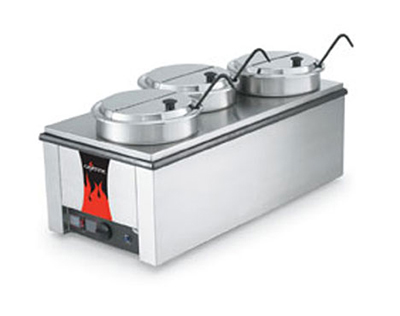 Vollrath 72788 4/3 Counter Warmer with Accessory Kit - Thermostat, Stainless 120v