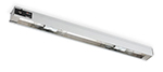 "Vollrath 7286700 60"" Cayenne Light Strip - Includes (6) 40W Standard Bulbs, 120v"