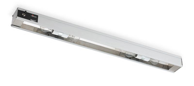 "Vollrath 7286000 18"" Cayenne Light Strip - Includes 40W Standard Bulbs, 120v"