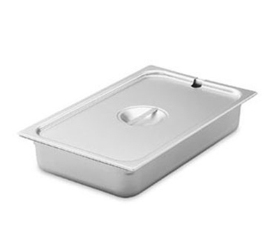 Vollrath 75260 Sixth-Size Steam Pan Cover, Stainless