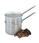 Vollrath 77020 2-qt Double Boiler - Solid Cover, Stainless