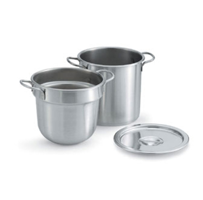 Vollrath 77112 11-qt Double Boiler Cover - Stainless