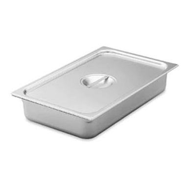 Vollrath 75140 Fourth-Size Steam Pan Cover, Stainless