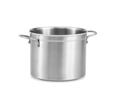 Vollrath 77523 22-qt Stock Pot - Induction Compatible, Stainless/Aluminum
