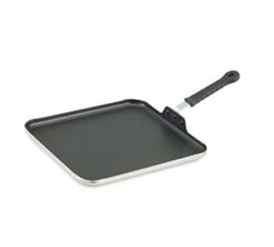 "Vollrath 77530 12"" Square 3-Ply Griddle - Non-Stick, Stainless, Aluminum"