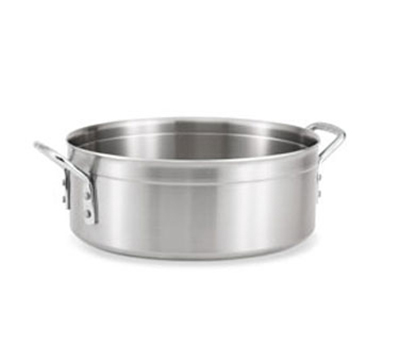 Vollrath 77760 10-qt Brazier - Chrome-Plated Handles, Stainless/Aluminum