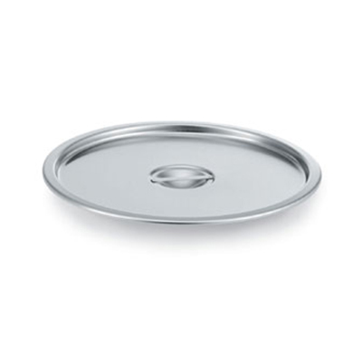 "Vollrath 78672 12.25"" Stock Pot Dome Cover for 78600, Stainless"