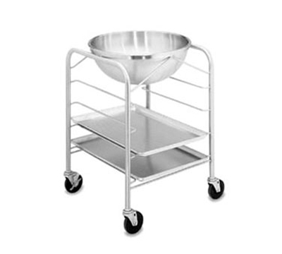 Vollrath 79302 30-qt Mixing Bowl with Stand and Tray Slides - Stainless