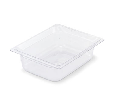 "Vollrath 8028410 Half-Size Food Pan - 8"" Deep, Low-Temp, Clear Poly"